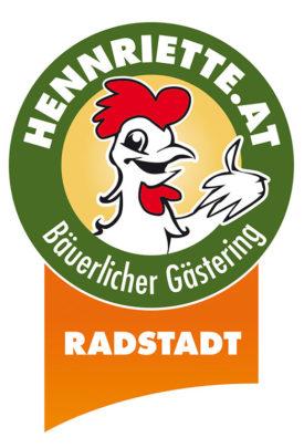 Logo - Hennriette Bäuerlicher Gästering Radstadt