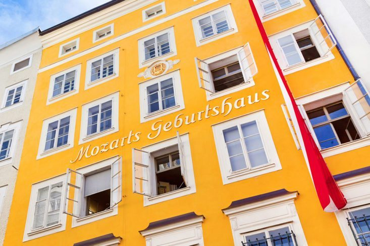 Ausflugsziele - Mozart Geburtshaus, Salzburg