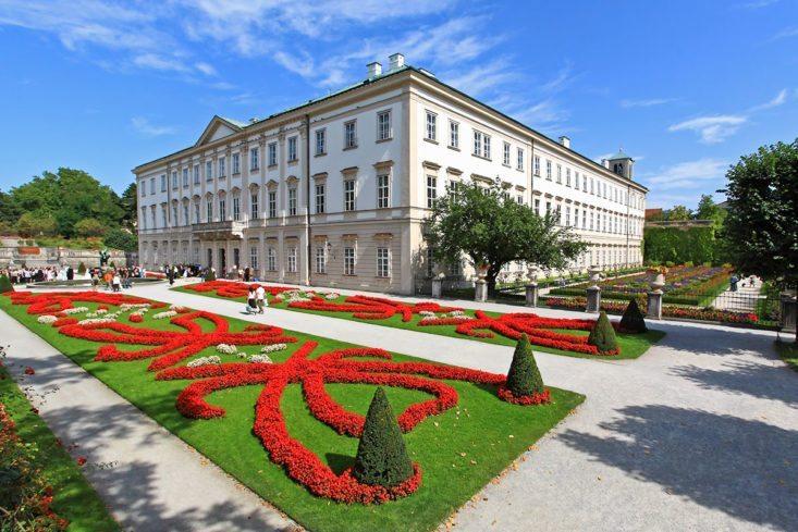 Ausflugsziele - Schloss Mirabell, Salzburg