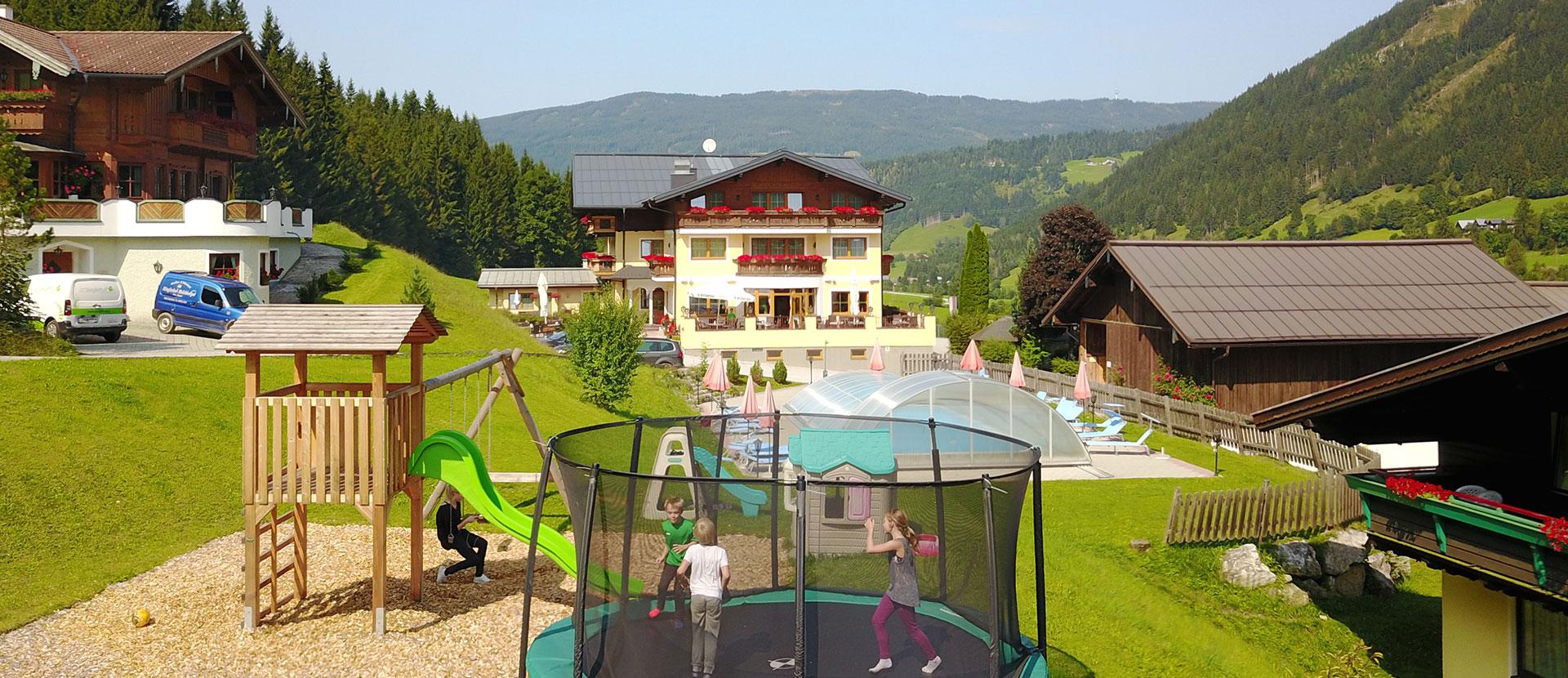 Buchungsinformationen - Natur- & Familienresort Der Stieglerhof in Radstadt, Salzburg