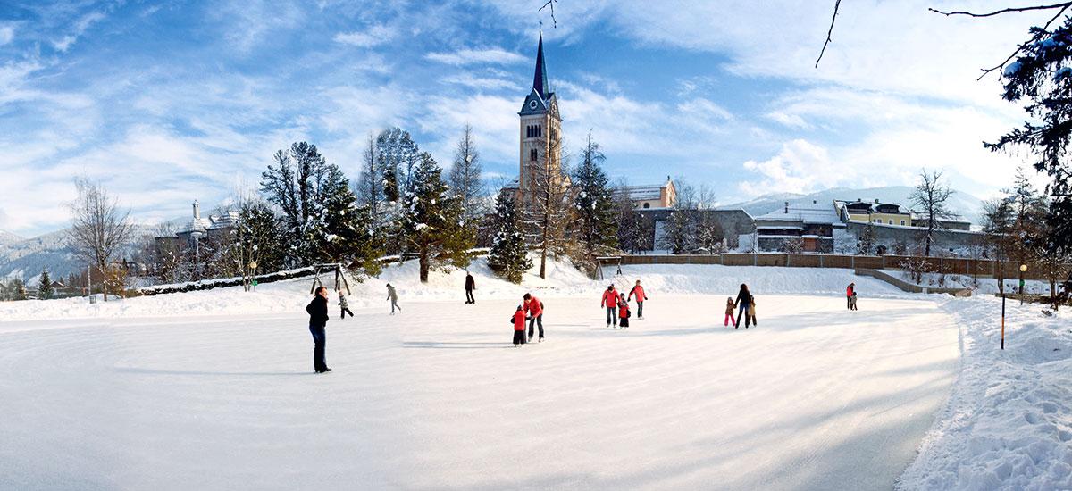 Eislaufen im Ski- & Winterurlaub in Radstadt, Ski amadé