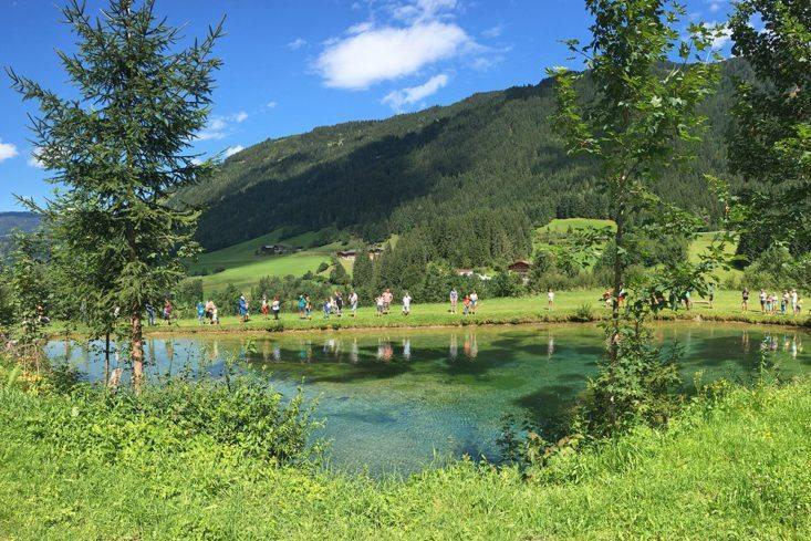 Fischteiche - eigene Fischzucht am Stieglerhof in Radstadt, Salzburg