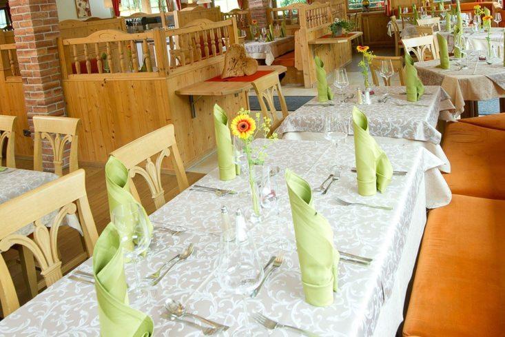 Kulinarik im Restaurant in Radstadt – Natur- & Familienresort Der Stieglerhof