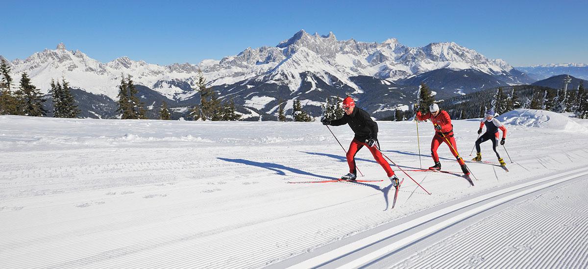 Langlaufen im Ski- & Winterurlaub in Radstadt, Ski amadé