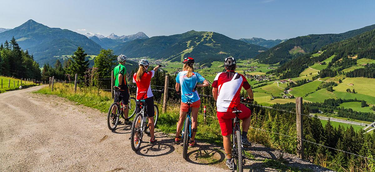 Mountainbiken in der Salzburger Sportwelt, Salzburger Land