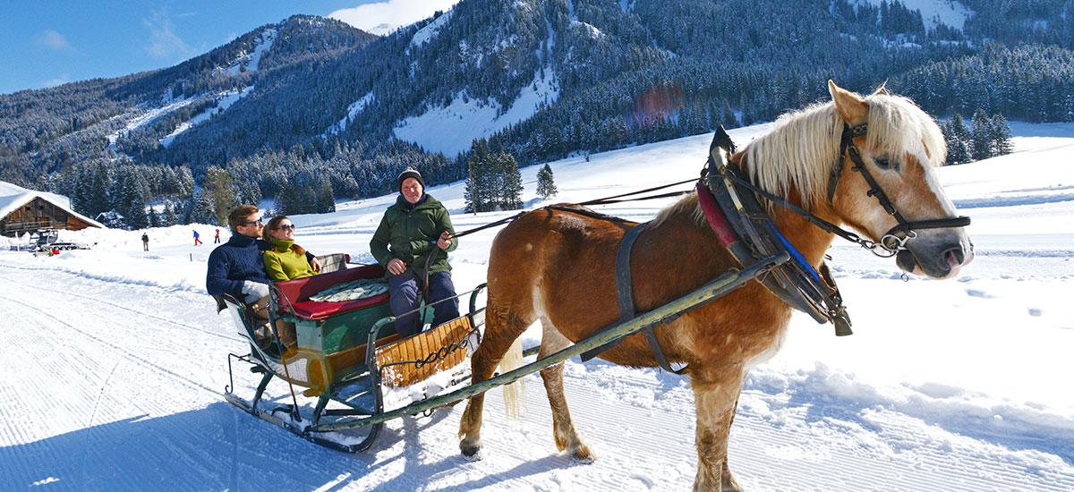 Pferdeschlittenfahrten im Ski- & Winterurlaub in Radstadt, Ski amadé