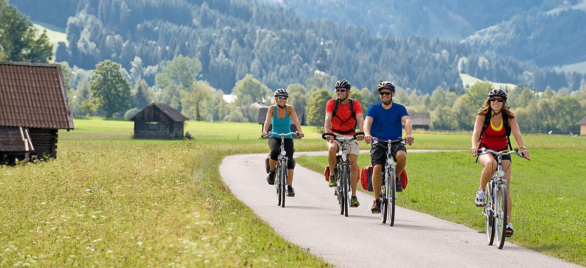 Radfahren - Sommerurlaub in Radstadt, Salzburger Land