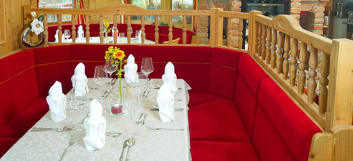 Restaurant im Hotel Der Stieglerhof in Radstadt, Salzburg