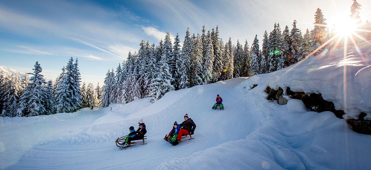 Rodeln im Ski- & Winterurlaub in Radstadt, Ski amadé