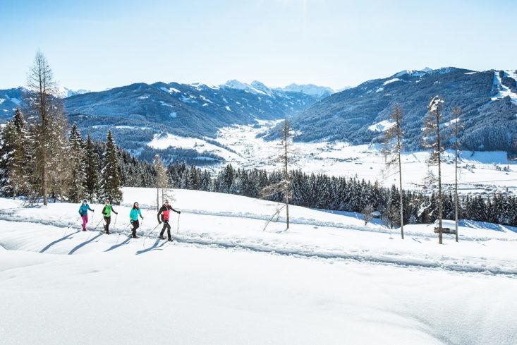Schneeschuhwandern - Winterurlaub in Radstadt