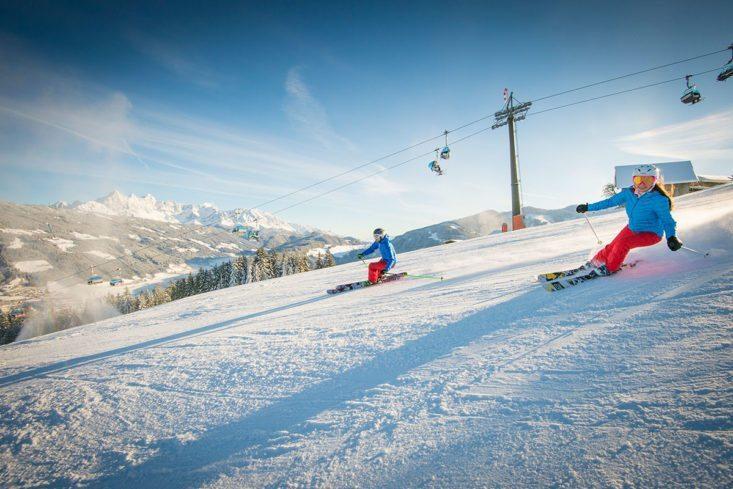 Skifahren im Skigebiet Radstadt/Altenmarkt, Ski amadé
