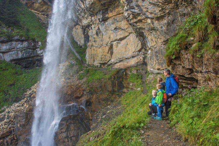 Wanderurlaub - Alles Alm mit Johanneswasserfall
