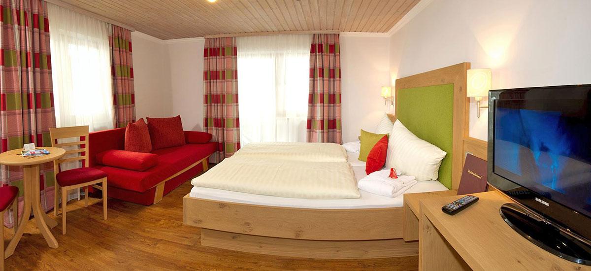 Zimmer im Hotel Der Stieglerhof in Radstadt, Salzburg